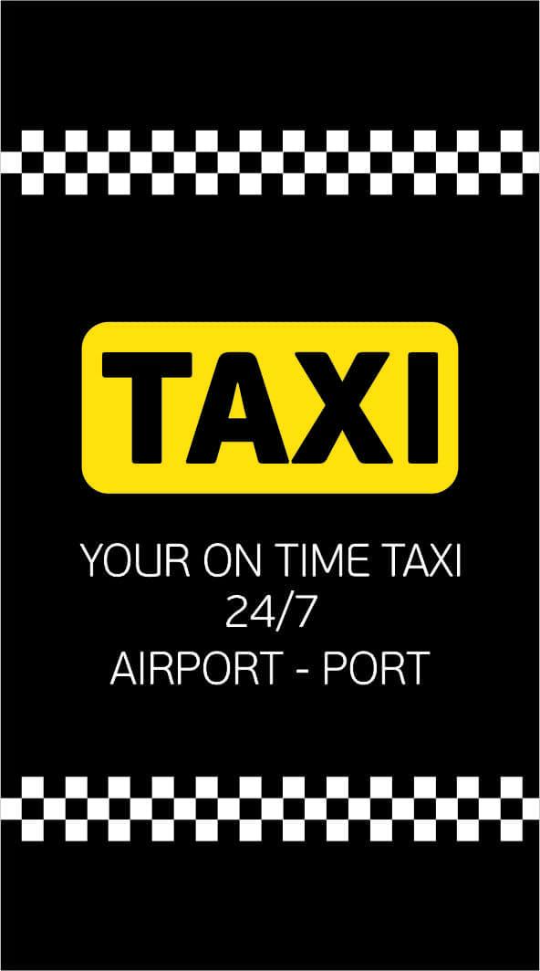 Εκτυπώσεις - Φωτοτυπίες - Γραφιστικά   Taxi CAB