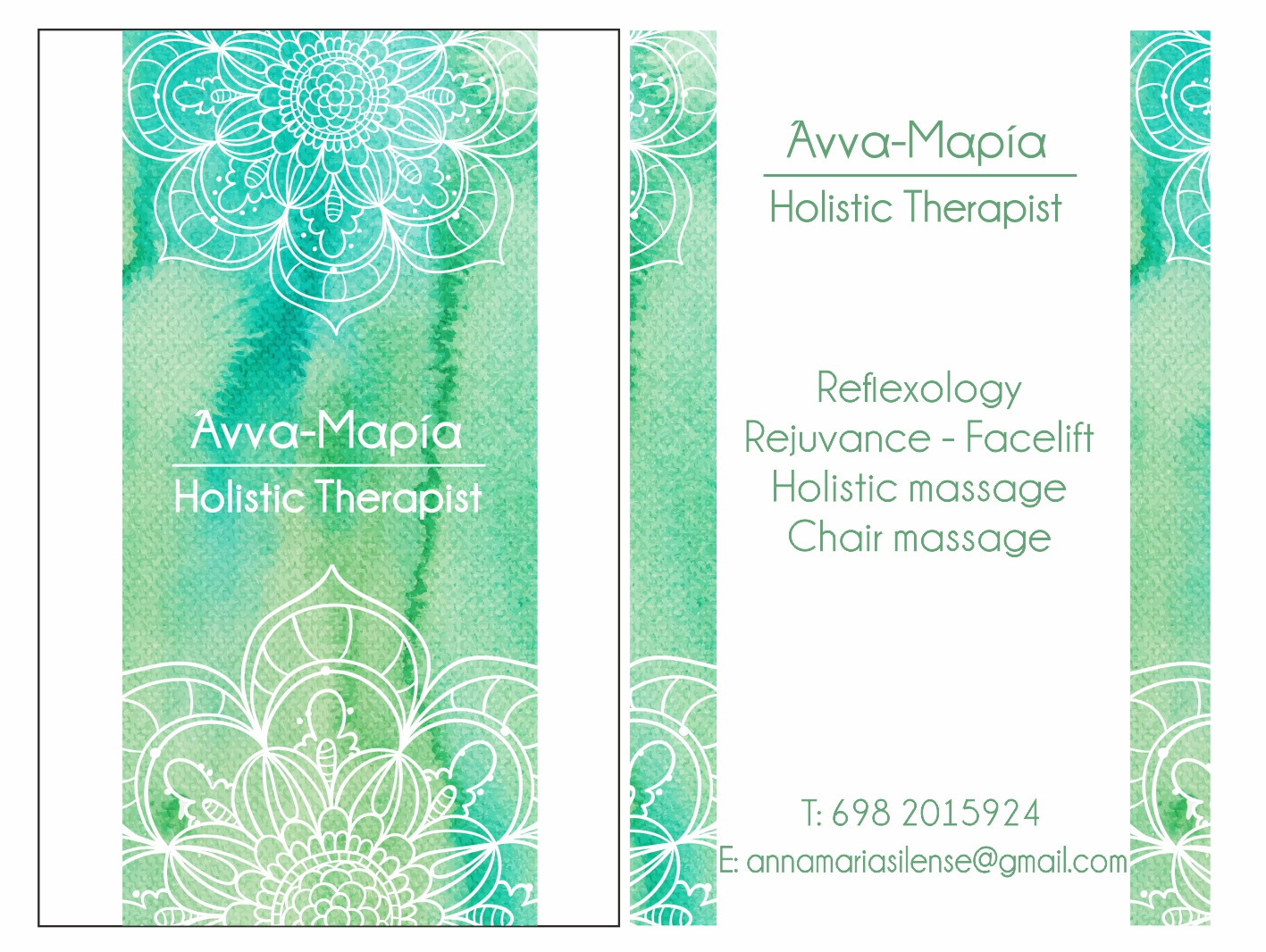 therapist card